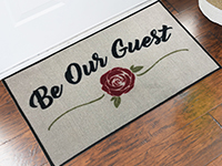 Be Our Guest - Beauty & the Beast Novelty Door Mat