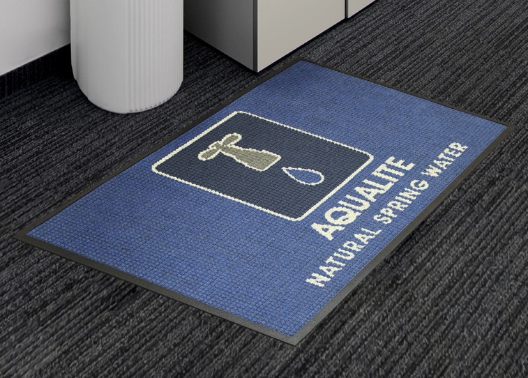 custom logo rubber floor mats