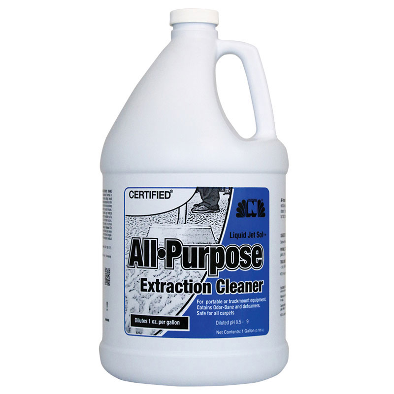 Certified Liquid Jet Sol All Purpose Extraction Cleaner