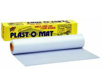 "Warp Bros. [PM50] Plast-O-Mat® Ribbed Plastic Floor Runner - Clear - 30"" x 50' Roll"