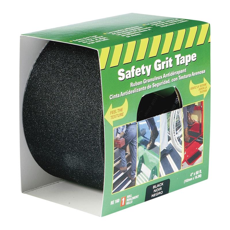 Life Safe Re160 Anti Slip Safety Grit Tape Black 4 Quot X