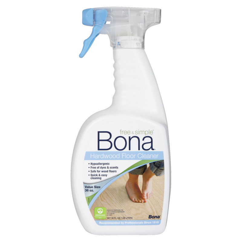 Bona free simple wood floor cleaner for Bona floor cleaner