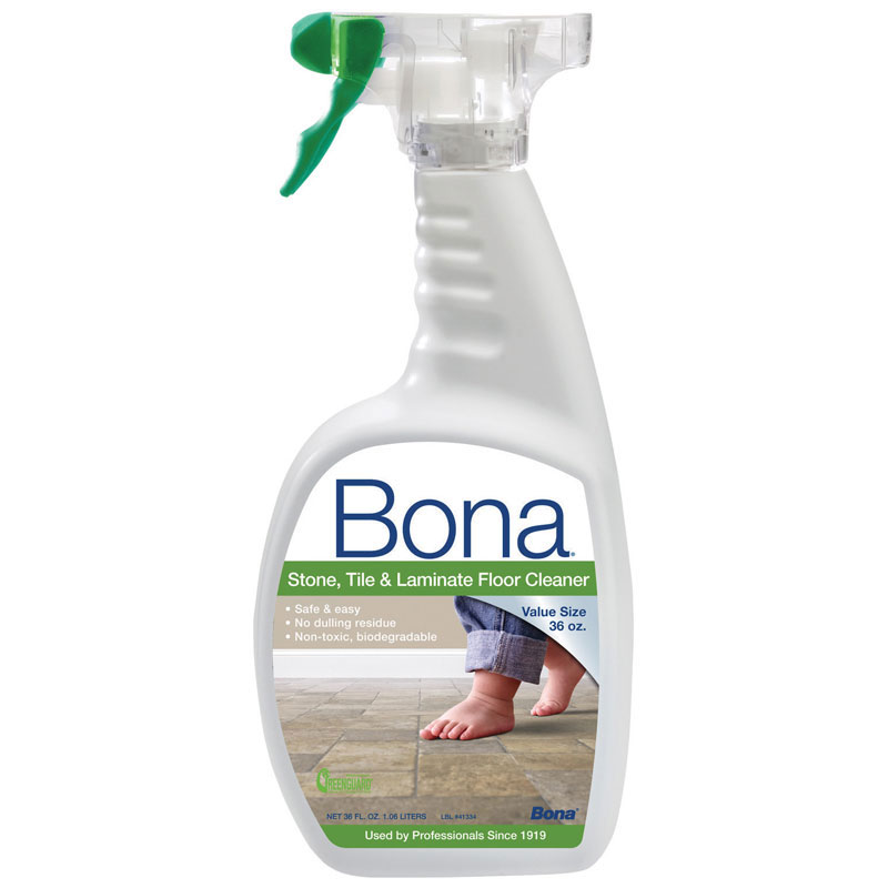 36 oz trigger spray bona stone tile laminate floor for Bona floor cleaner