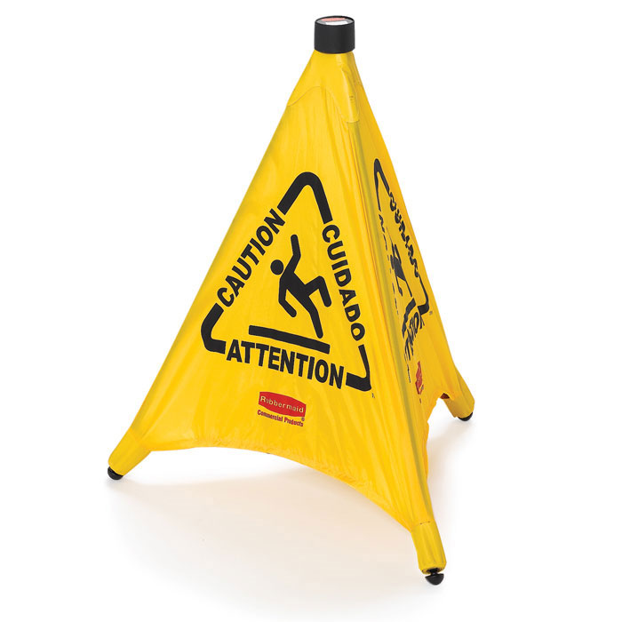 Pop Up Wet Floor Safety Cone Floormatshop Com