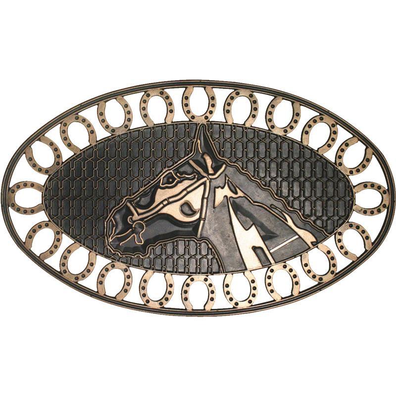 Horse Shoe Rubber Door Mat 18 X 30 Floormatshop Com
