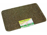 "24"" x 35.5"" Grassworx Clean Machine® Plus Astroturf Entrance Scraper Doormat - Taupe"