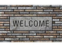"Apache Masterpiece Welcome Slats Door Mat - 18"" x 30"" 602527"