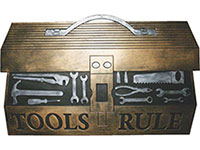 "Tool Box Door Mat - Rubber - 18"" x 30"" 601495"