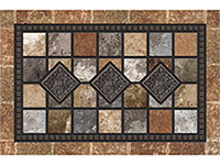 "Apache Masterpiece Redstone Door Mat - 24"" x 36"" 602561"